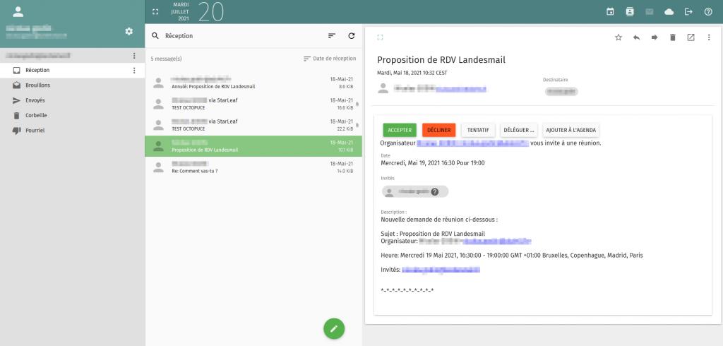 landes - webmail